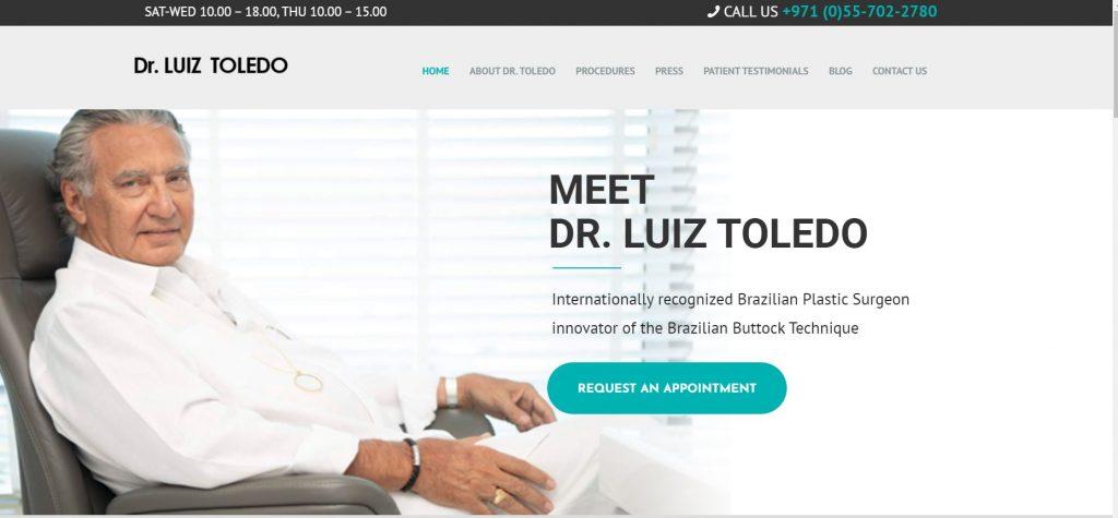 Luiz Toledo Website Cover